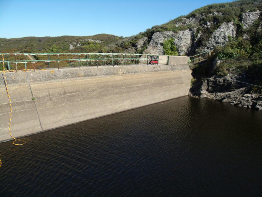 Vérification de joints sur barrage