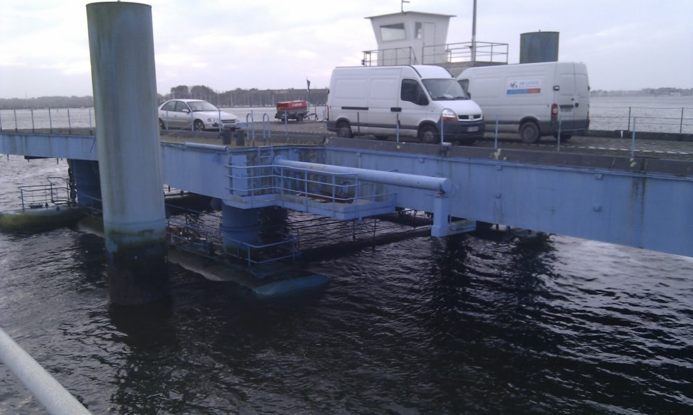 Dévasage passerelle Ro-Ro Lorient