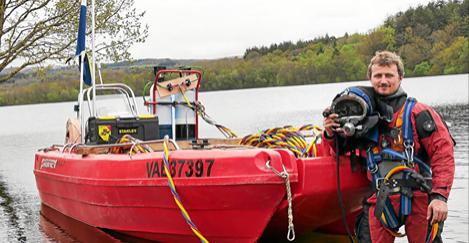 Inspection subaquatique barrage du Drennec - Finistère