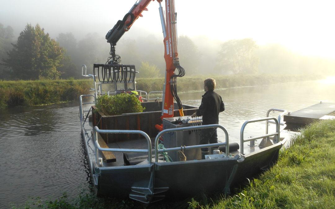 Un nouvel équipement , la barge Ar Ganol 2